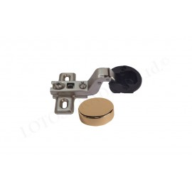 IVENTO B-55 Mini glass hinge inset + gold cup